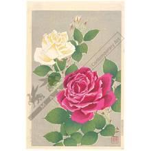 Kawarazaki Shodo: Roses - Austrian Museum of Applied Arts