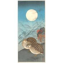 Shoson Ohara: Quails (title not original) - Austrian Museum of Applied Arts