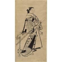 Kaigetsudo Doshin: Courtesan (title not original) - Austrian Museum of Applied Arts