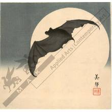 Biho: A bat and the moon (title not original) - Austrian Museum of Applied Arts