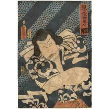 Utagawa Kunisada: Sumo wrestler Iwakawa - Austrian Museum of Applied Arts