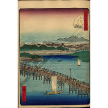 Utagawa Hiroshige II: Number 29: Eitai bridge - Austrian Museum of Applied Arts