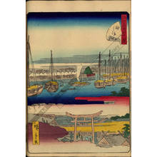 Utagawa Hiroshige II: Number 30: Tsukudajima - Austrian Museum of Applied Arts