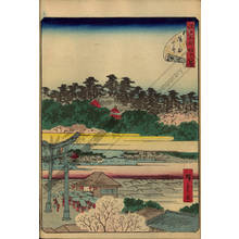Utagawa Hiroshige II: Number 8: The Yushima Tenjin Shrine - Austrian Museum of Applied Arts