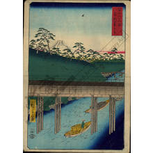 Utagawa Hiroshige: Ochanomizu in the eastern capital - Austrian Museum of Applied Arts