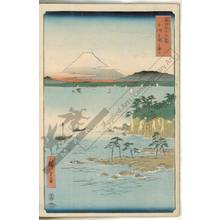 歌川広重: Sea at Miura in the province of Sagami - Austrian Museum of Applied Arts