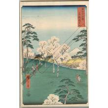 Utagawa Hiroshige: Asukayama in the eastern capital - Austrian Museum of Applied Arts