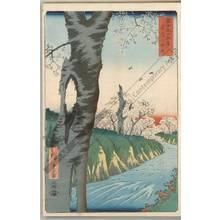 Utagawa Hiroshige: Koganei in the province of Musashi - Austrian Museum of Applied Arts