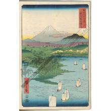 歌川広重: Yokohama, Musashinoge - Austrian Museum of Applied Arts