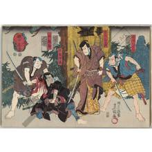 "Utagawa Kunisada: Kabuki play ""Denka chaya"" - Austrian Museum of Applied Arts"