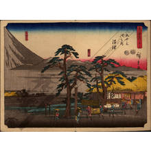 Utagawa Hiroshige: Print 13: Numazu (Station 12) - Austrian Museum of Applied Arts