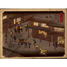 Utagawa Hiroshige: Print 35: Goyu (Station 35) - Austrian Museum of Applied Arts