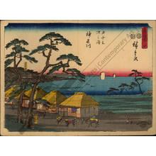 Utagawa Hiroshige: Print 4: Kanagawa (Station 3) - Austrian Museum of Applied Arts