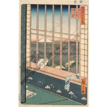 Utagawa Hiroshige: Asakusa ricefields and the Torinomachi festival - Austrian Museum of Applied Arts