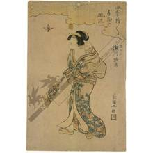 Utagawa Toyokuni I: Segawa Roko as nurse - Austrian Museum of Applied Arts