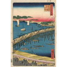 歌川広重: Ryogoku bridge and the riverbank - Austrian Museum of Applied Arts