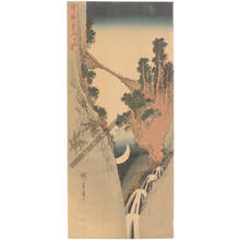 Utagawa Hiroshige: Crescent moon - Austrian Museum of Applied Arts