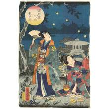 Utagawa Yoshitora: Autumn moon - Austrian Museum of Applied Arts
