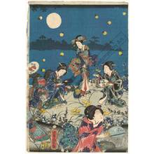 歌川芳虎: Autumn moon - Austrian Museum of Applied Arts