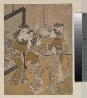 鈴木春信: Daikoku Dôagé - メトロポリタン美術館