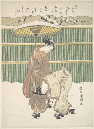 鈴木春信: Untitled - メトロポリタン美術館