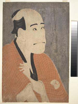 東洲斎写楽: Arashi Ryûzô I as Ishibe Kinkichi in the Play