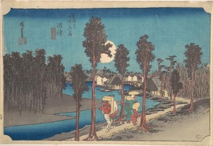 Utagawa Hiroshige: Numazu Ki Kure - Metropolitan Museum of Art