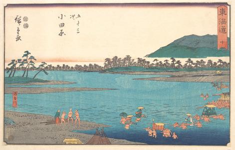 Utagawa Hiroshige: Odawara - Metropolitan Museum of Art