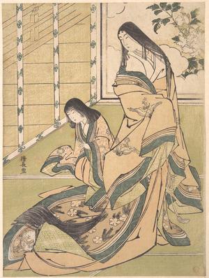 鳥居清長: The Third Princess (Onna San no Miya) - メトロポリタン美術館