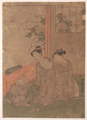 Isoda Koryusai: Mrs. Tô - Metropolitan Museum of Art
