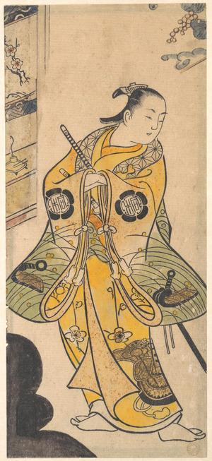 Torii Kiyotada I: Actor as a Samurai Youth - Metropolitan Museum of Art