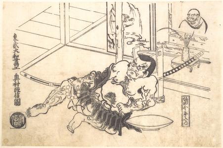 Okumura Masanobu: Sakata Kinpira Nyudo - Metropolitan Museum of Art