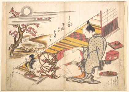 奥村政信: Bedroom Scene - メトロポリタン美術館