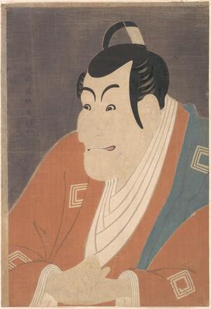 東洲斎写楽: Ichikawa Ebizo IV in the role of Takemura Sadanoshin - メトロポリタン美術館