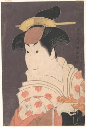 東洲斎写楽: Iwai Hanshirô IV as Shigenoi in the Play