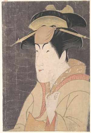 東洲斎写楽: Nakayama Tomisaburô as Miyagino in the Play
