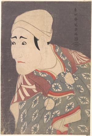 Toshusai Sharaku: Morita Kanya VIII as Uguisu no Jirôsaku in the Play Katakiuchi Noriaibanashi - Metropolitan Museum of Art