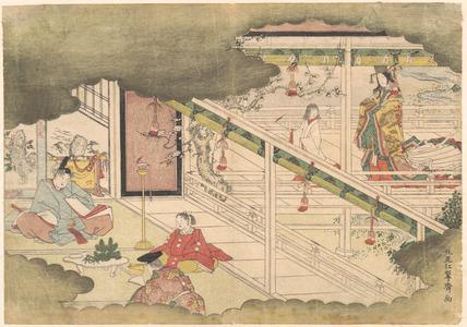 Kitao Shigemasa: An Incident from the Ise Monogatari - Metropolitan Museum of Art