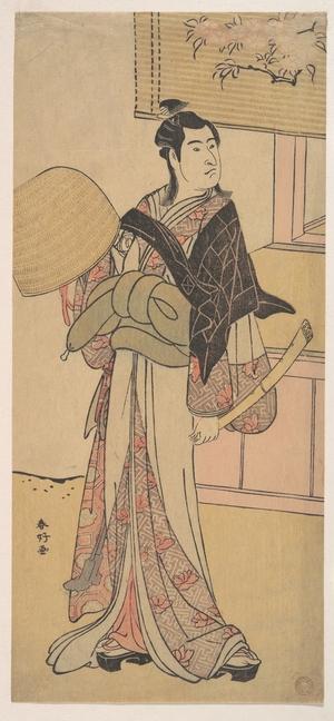 勝川春好: The Third Sawamura Sojuro in the Role of Shirai Gonpachi - メトロポリタン美術館