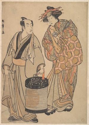Katsukawa Shunsho: The Third Segawa Kikunojo as an Oiran - Metropolitan Museum of Art