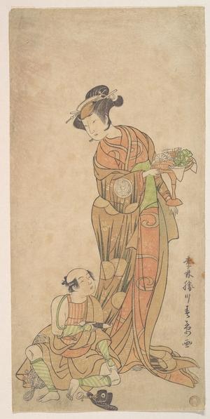 Katsukawa Shunsho: The Second Yamashita Kinsaku in the Role of Shigenoi - Metropolitan Museum of Art