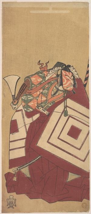 勝川春章: The Fifth Ichikawa Danjuro as Kisou Takiguchi - メトロポリタン美術館