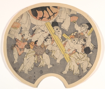 Katsukawa Shun'ei: Children's Lantern Float, Sanno Festival - Metropolitan Museum of Art