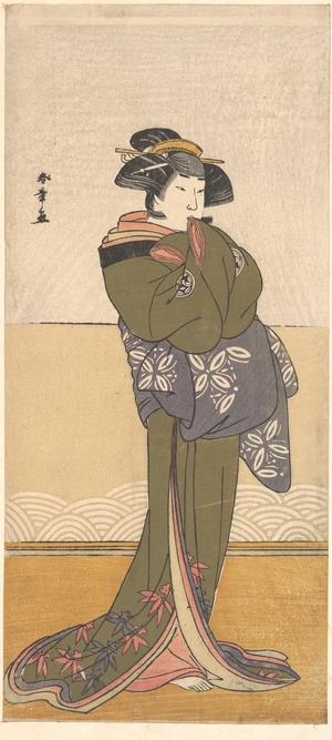 Katsukawa Shunsho: Yamashita Kinsaku II - Metropolitan Museum of Art