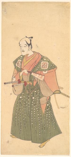 勝川春章: Arashi Otohachi I - メトロポリタン美術館