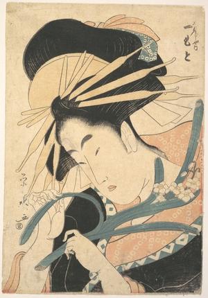 Ichirakutei Eisui: A Beauty - Metropolitan Museum of Art