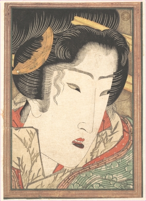 Keisai Eisen: Rejected Geisha from Passions Cooled by Springtime Snow - Metropolitan Museum of Art