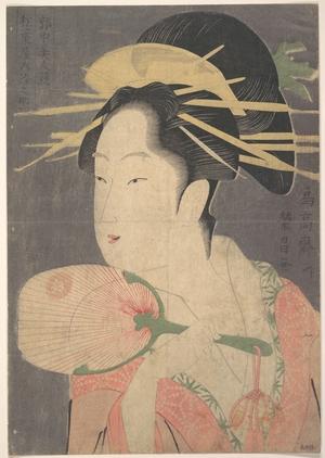 鳥高斎栄昌: A Beauty - メトロポリタン美術館