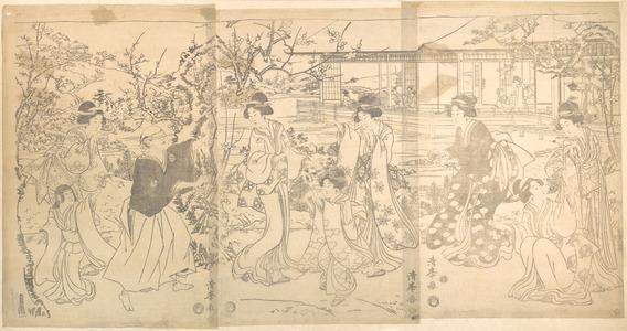 Torii Kiyomine: Scene from the Chushihgura (Vendetta of the 47 Loyal Retailers) - Metropolitan Museum of Art