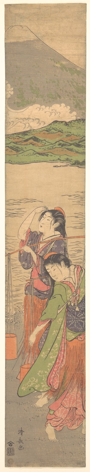 Torii Kiyonaga: Dance of the Beach Maidens - Metropolitan Museum of Art
